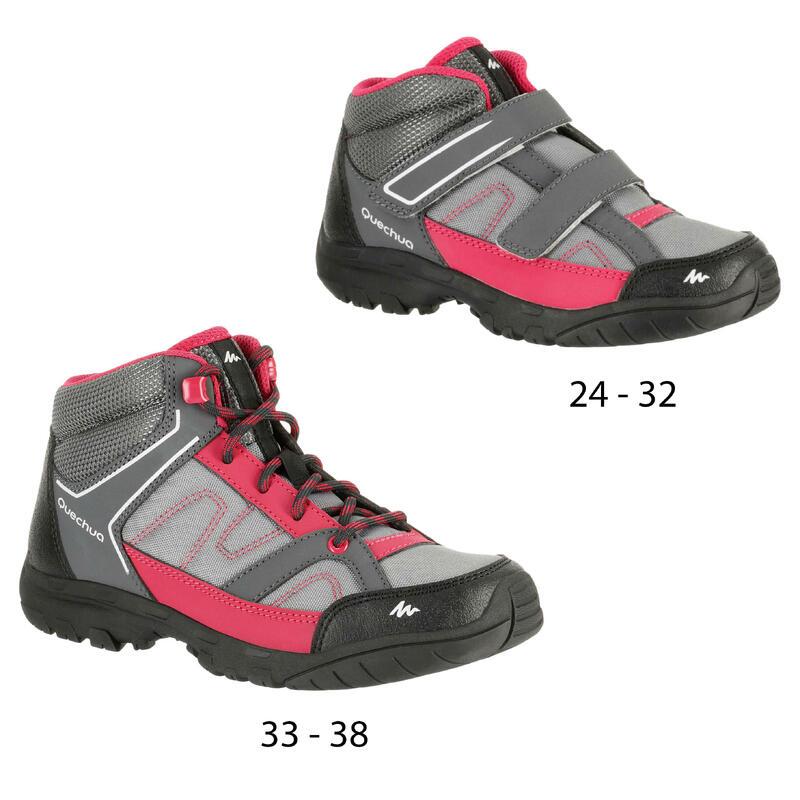 super popular 9f8a4 a5b5d Arpenaz 50 Mid Children s hiking Shoes - Pink