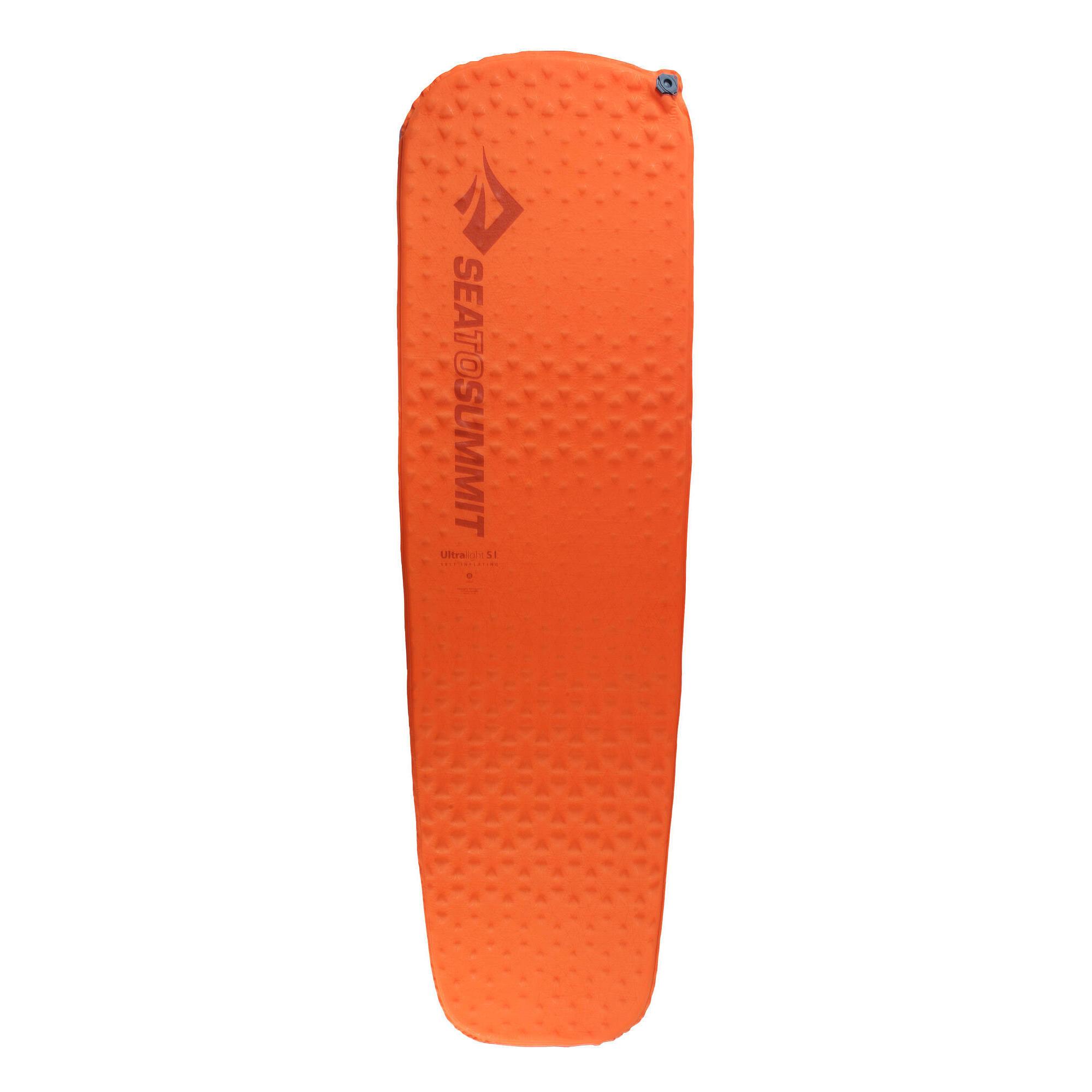 Sea to summit Zelfopblazend slaapmatje voor trekking Ultralight S.I. oranje kopen