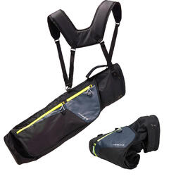 BOLSA DE GOLF FLEXIBLE ULTRALIGHT negro
