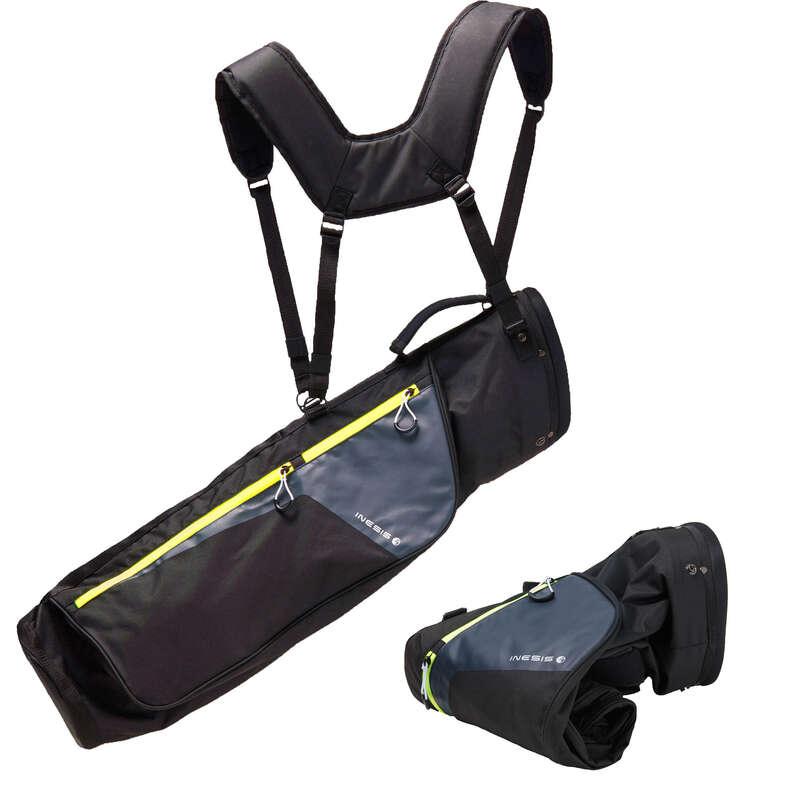 INTERMEDIATE & ADVANCED GOLF BAGS Golf - ULTRA-LIGHT SOFT BAG black INESIS - Golf