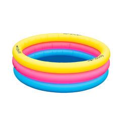 Opblaasbaar zwembad met 3 banden. Diameter: 170 cm, hoogte: 53 cm.