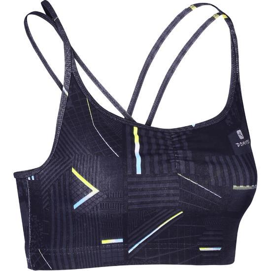 Danstopje met smalle schouderbandjes voor dames - 1152350