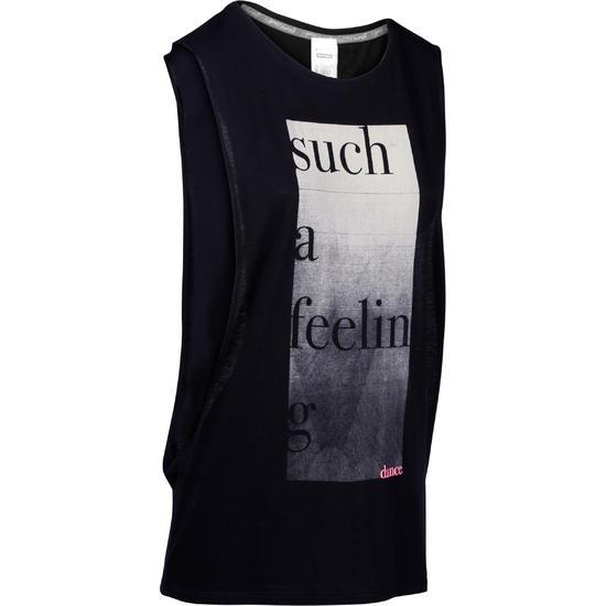 Mouwloos dansshirt dames - 1152354