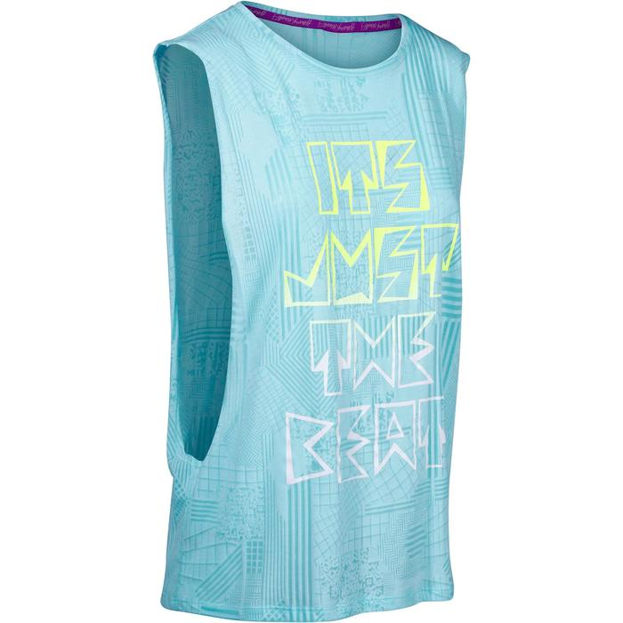 T shirt sans manche danse effet - 1152368