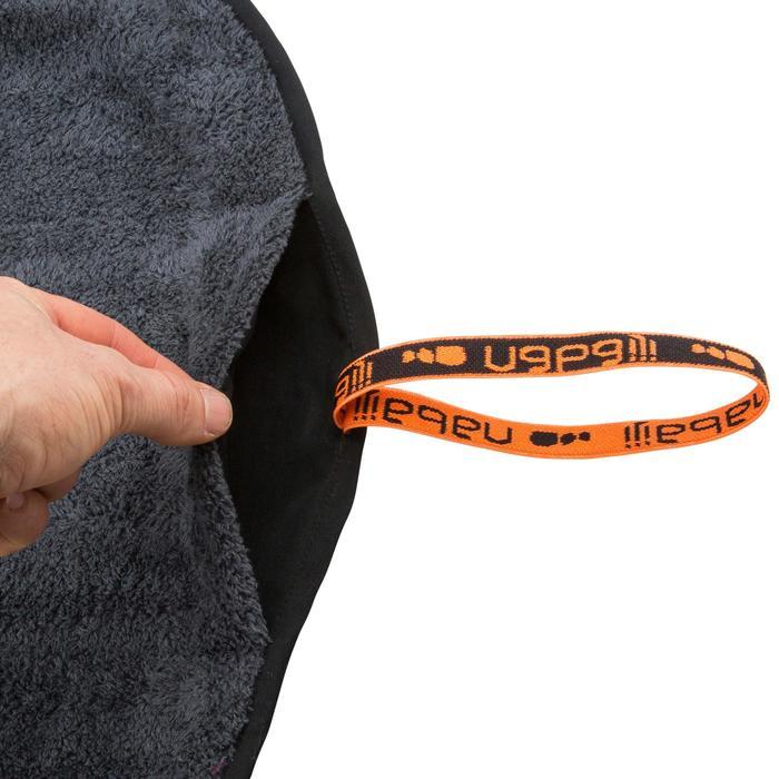 Serviette pour les pieds bi face en microfibre douce diamètre 60 cm - 1152540