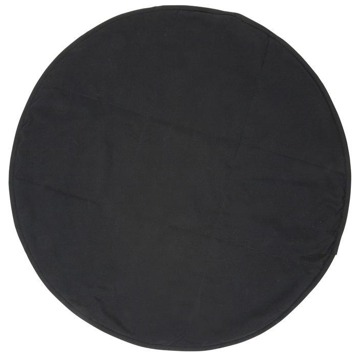 Serviette pour les pieds bi face en microfibre douce diamètre 60 cm - 1152541