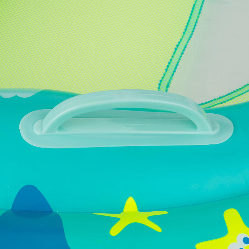 Swimming baby inflatable pad - green