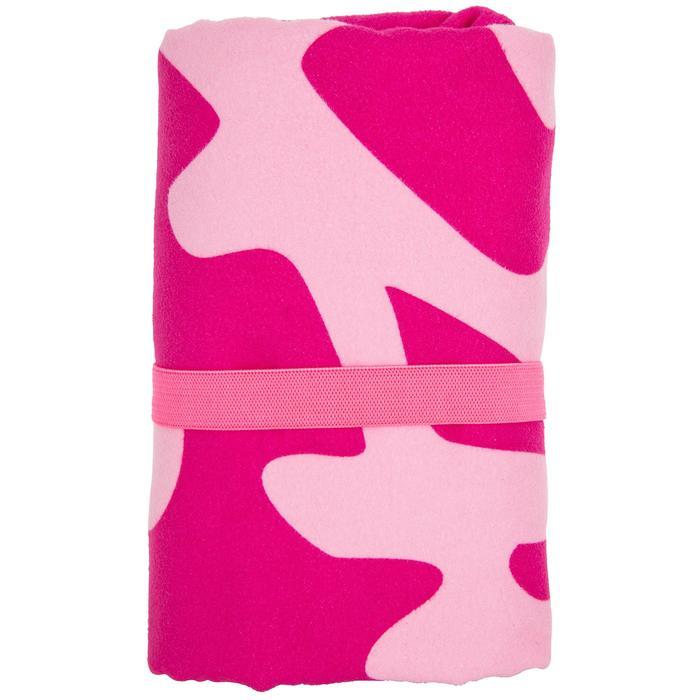 Microfibre Towel Size L 80 x 130 cm Pink Mermaid print