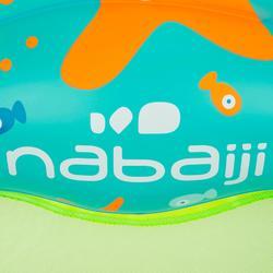 """Flotador Plataforma de Iniciación Acuática Natación Nabaiji """"Tinoa"""" Verde/Azul c"""