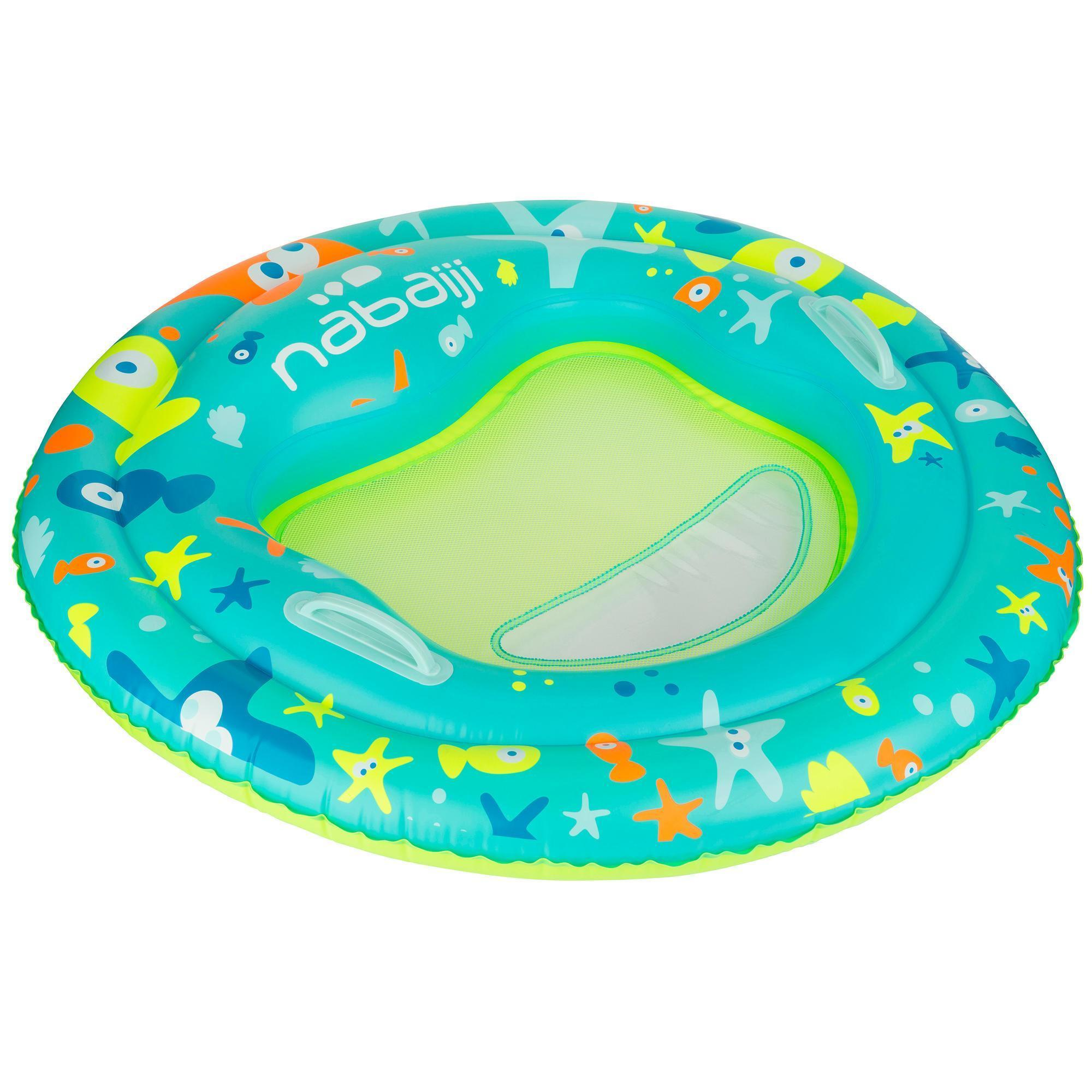 Tinoa Baby Learning To Swim Platform Blue Nabaiji