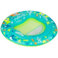 Drijfplatform Tinoa voor watergewenning, voor kinderen van 6 mnd tot 2 jr blauw