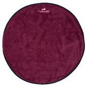 Temno vijoličasta dvostranska brisača za stopala iz mikrovlaken (60 cm)