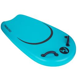 Bodyboard voor jongeren Bodyatu M blauw met grepen en leash
