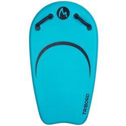 Bodyboard met leash BODYATU M voor kinderen