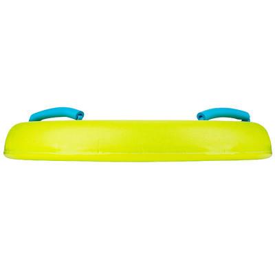 Bodyboard junior BODYATU M vert avec poignées et leash
