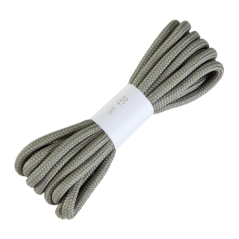 Lacets ronds pour chaussures de randonnée gris