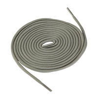 Round Hiking Boot Laces - Grey