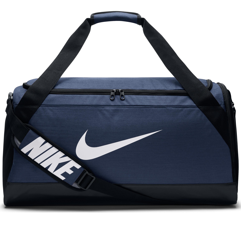 Nike Sporttas teamsporten, Duffel bag maat M, 55 liter blauw