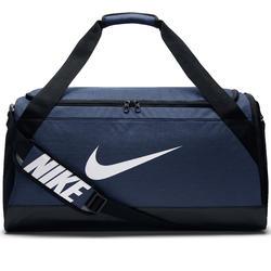 Sporttas teamsporten, Duffel bag maat M, 55 liter blauw