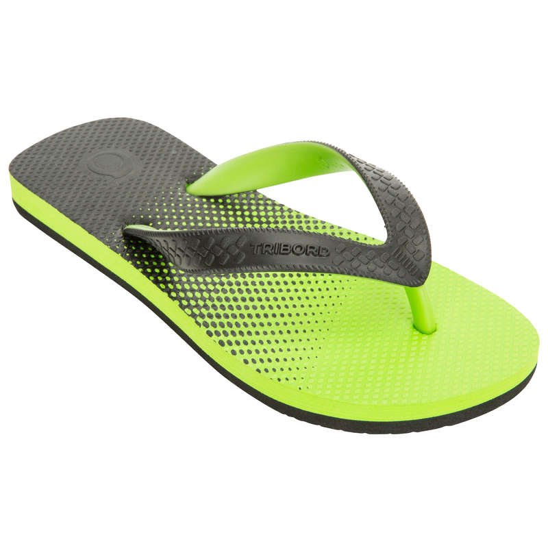 JUNIOR'S SURF FOOTWEAR Surf - TO 500 B Jasmin - Green OLAIAN - Surf Clothing