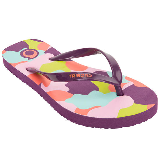 Slippers TO 100S Print Geo bl - 1152817