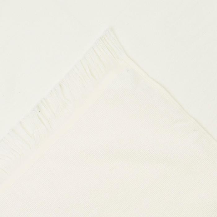 Toalla FOUTA DOBLE Avorio Azul Marino 170x150 cm