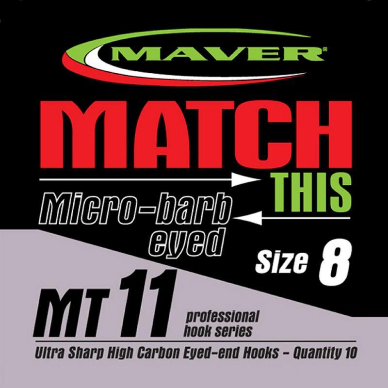 MT11 Micro Barbed Hooks