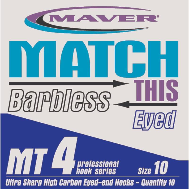 MT4 Barbless Hook