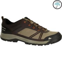 Zapatillas de senderismo en la naturaleza NH300 impermeable beige hombre