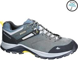 MH500 Men's Waterproof Mountain Hiking Shoes - Mottled Blue