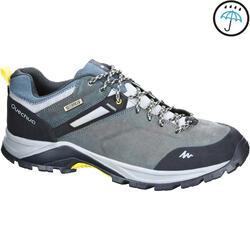 男士防水山區健行運動鞋 MH500 - 藍色雲紋
