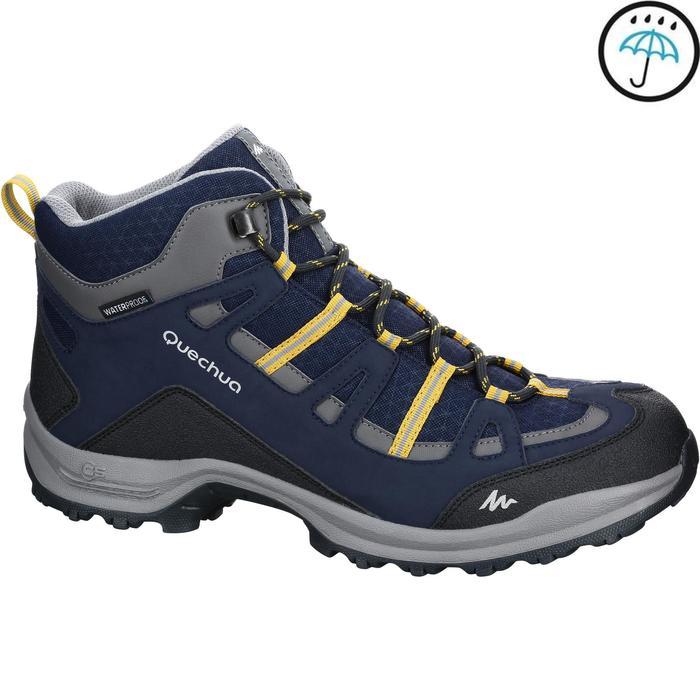 Chaussure Randonnée Quechua Arpenaz 100 Mid Homme Imperméable - 1152939