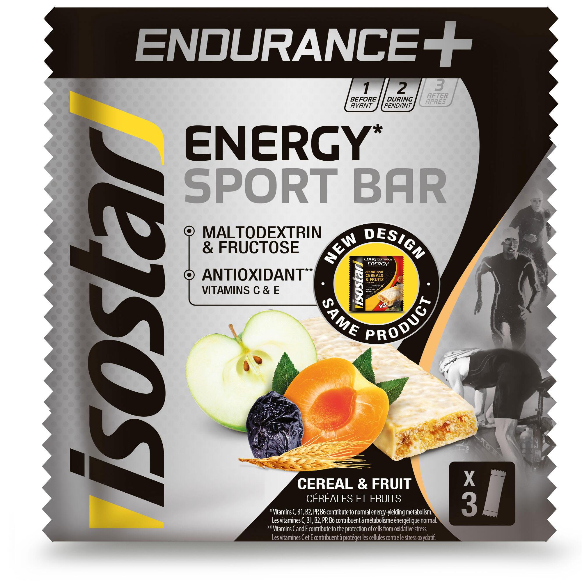 Baton Energy Sport 3x40g de la ISOSTAR