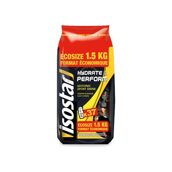 Poeder voor isotone dorstlesser Hydrate & Perform citroen 1,5 kg - 1153034