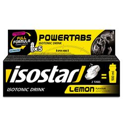 Bruistabletten voor isotone dorstlesser Powertabs citroen 10x 12 g