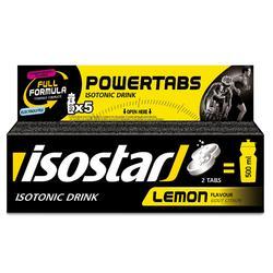 Bruistabletten voor isotone dorstlesser Powertabs citroen 10x12 g