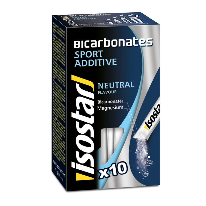 HYDRATION & BEFORE Supplements - Bicarbonates 10x7g ISOSTAR - Sports and Energy Drinks