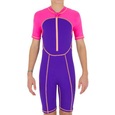 shorty swim g purple pink