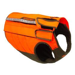 Chaleco Protector Perro Solognac Supertrack Antiperforacion Naranja Fluo