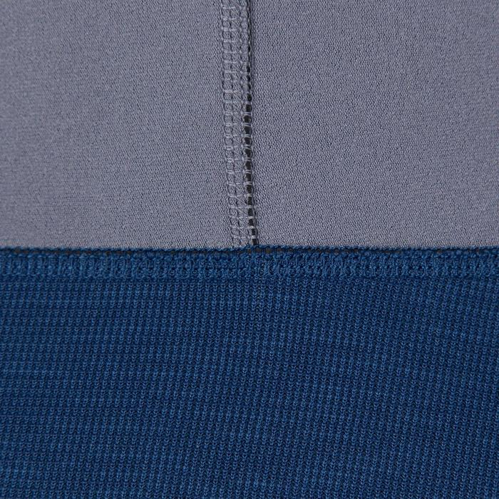 Heren wetsuit 500 voor kajak en suppen neopreen 2 mm grijs blauw