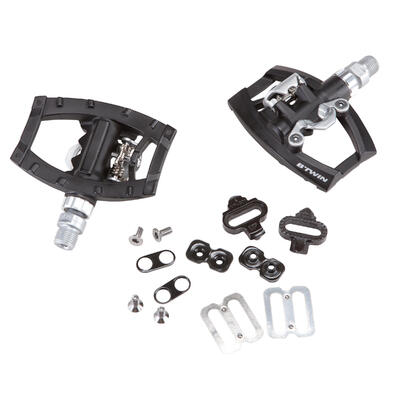 500 Dual Platform SPD Compatible Bike Pedals