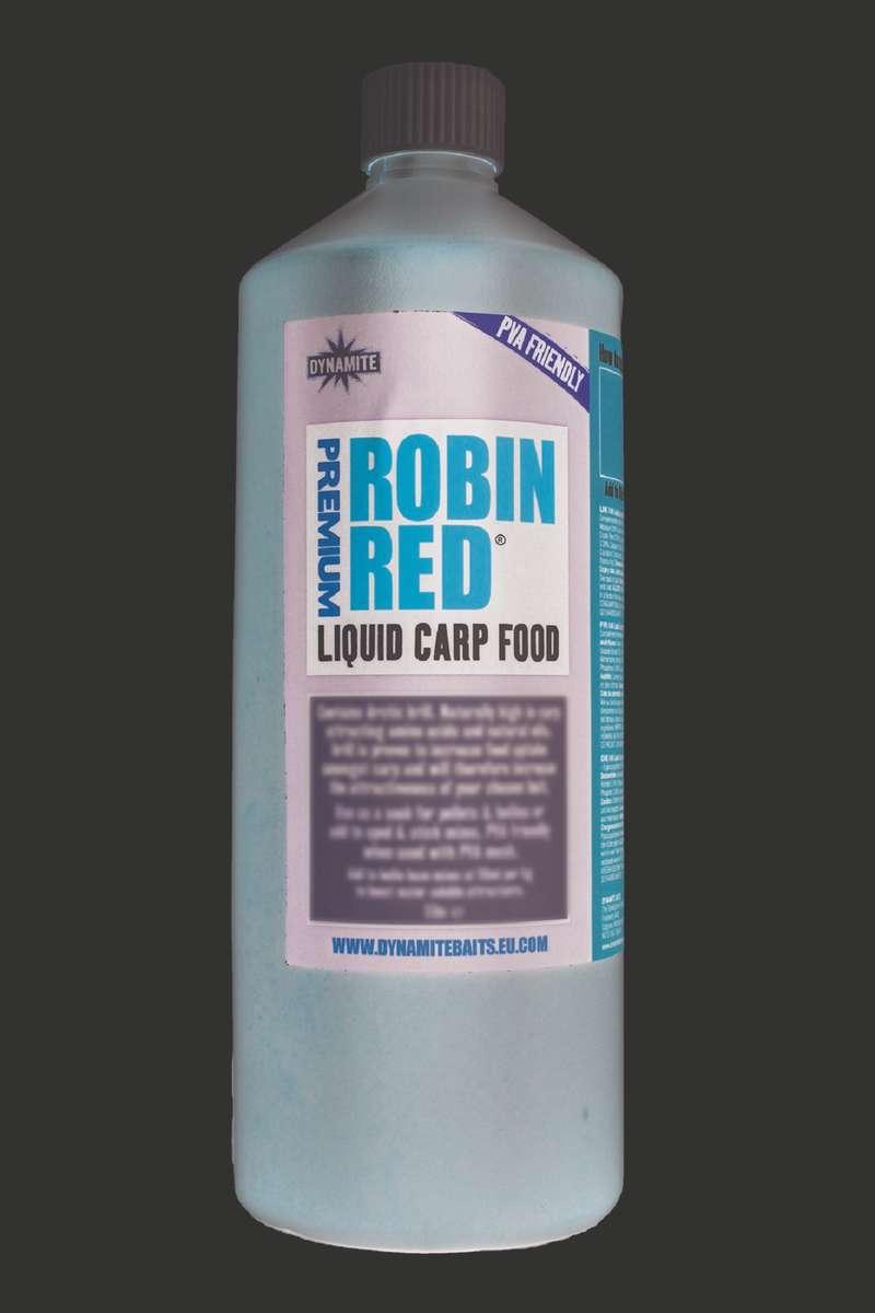 CARP BAITS, BAITING EQUIPEMENT Fishing - Robin Red Liquid 1ltr DYNAMITE BAITS - Carp Fishing