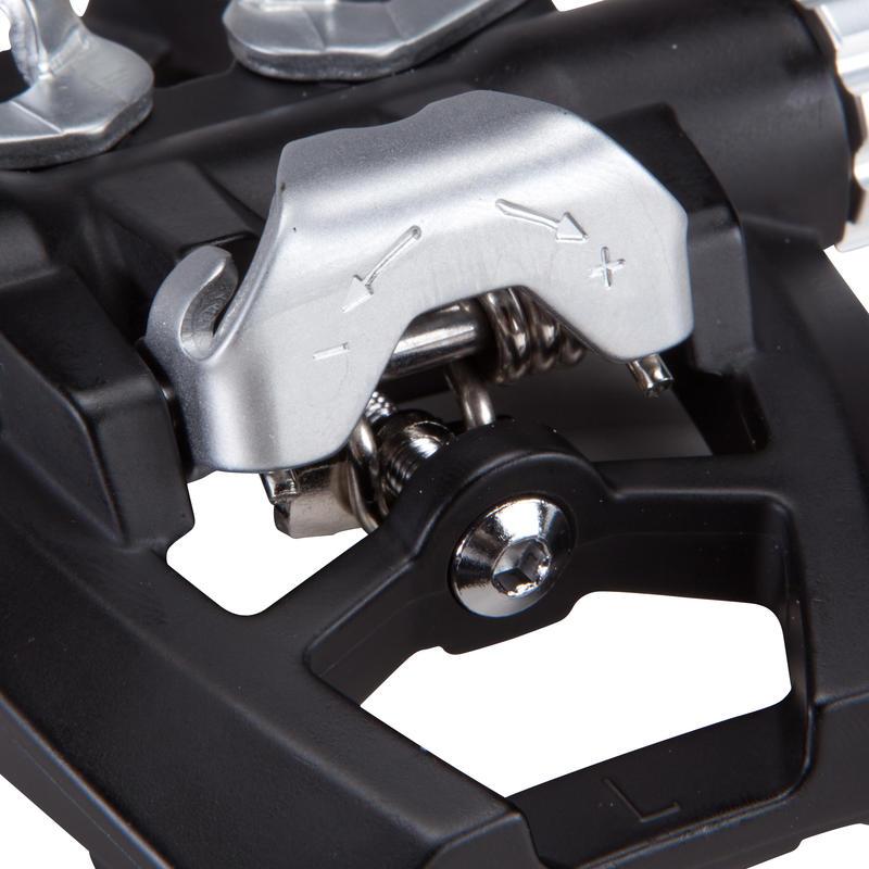 500 Dual Platform SPD Compatible Bike Pedals