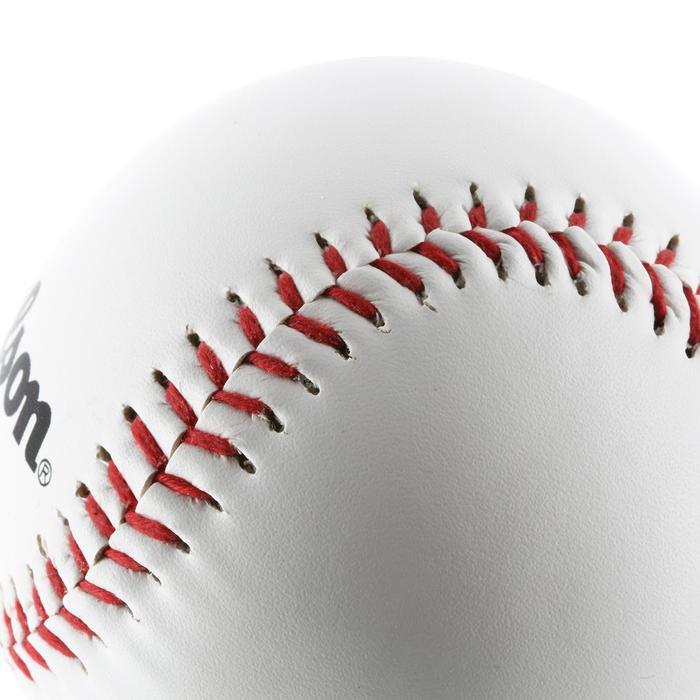 Set de baseball avec une batte en bois 24 pouces (60,96 cm) et une balle enfant - 1153580