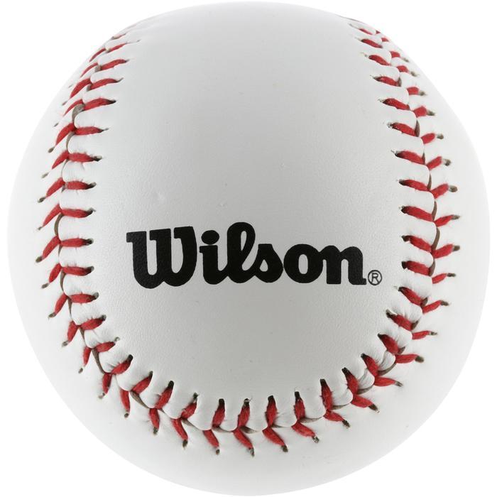 Set de baseball avec une batte en bois 24 pouces (60,96 cm) et une balle enfant - 1153582