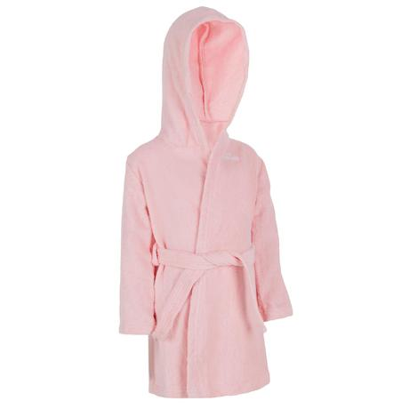 Baby Lightweight Cotton Terry Towelling Bathrobe with Hood and Belt ...