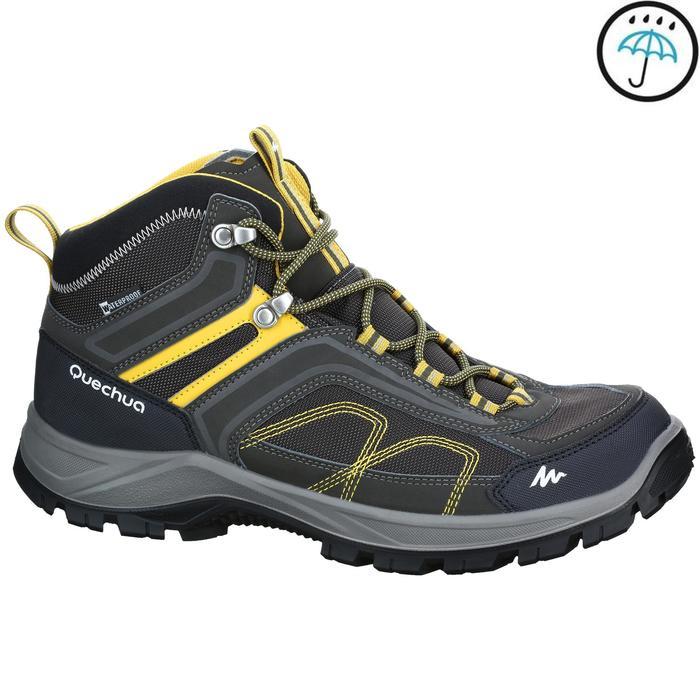 Chaussures de randonnée montagne homme MH100 Mid imperméable - 1153645