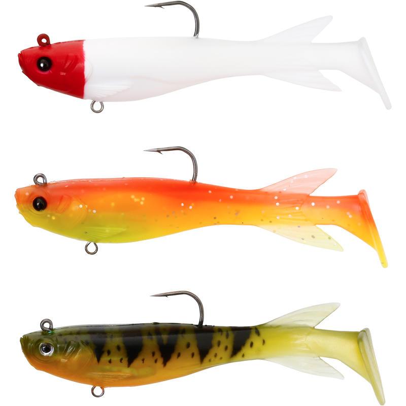 OMARU 110 MULTICOLOR 2 SOFT LURE FISHING KIT