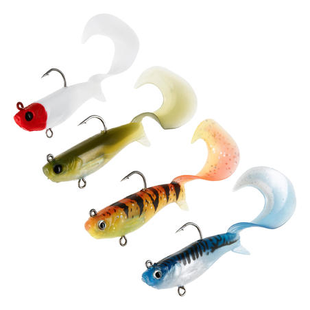 DUDDON 90 MULTICOLOUR 1 SOFT LURE FISHING KIT