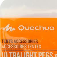 Piquets très légers pour tentes de randonnée d'aventure (x5)